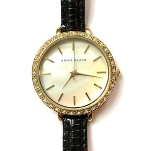 Anne Klein Mother of Pearl Analog Watch